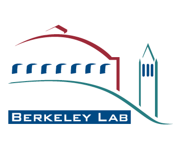 Logo for Lawrence Berkeley National Laboratory showing a symbol and Berkeley Lab