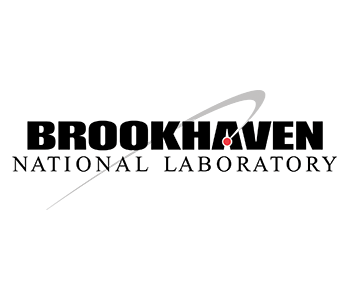 Logo for Brookhaven National Laboratory showing a symbol and NREL