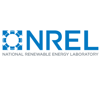 Logo for National Renewable Energy Laboratory showing a symbol and NREL